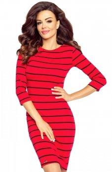 Bergamo 27-10 sukienka czerwona