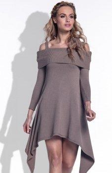 FIMFI I172 sukienka cappucino