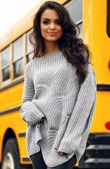 Envy Me EM605 sweter szary