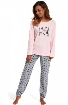 Cornette It's snowing 627/132 piżama
