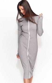 Numinou NU59 sukienka szara