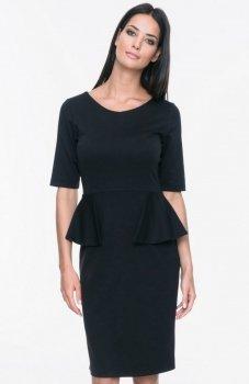 Mosali M027 sukienka czarna