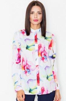 Figl M504 koszula różowa