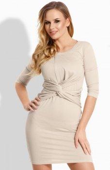 Envy Me EM109 sukienka beżowa