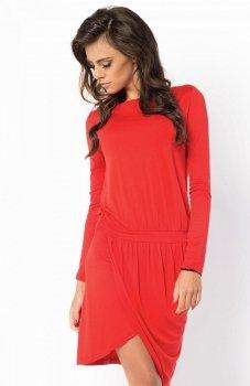 BE YOU 036 sukienka czerwona