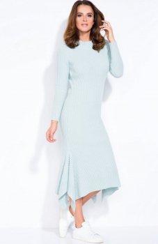 FIMFI I129 sukienka pistacjowa