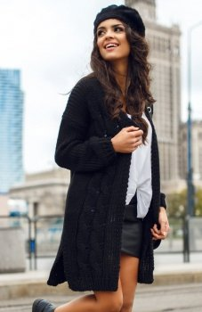 Envy Me EM607 sweter czarny