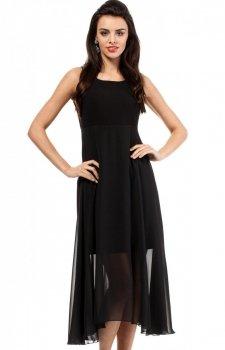 Moe MOE203 sukienka czarna