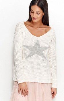 Numinou NU_S26 sweter biały
