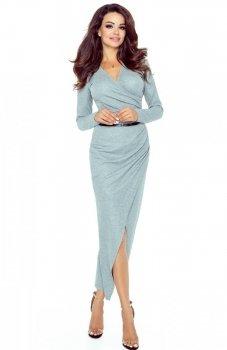 Bergamo 75-02 sukienka szara