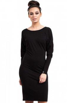 BE B020 sukienka czarna