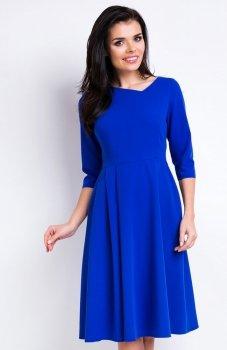 Awama A157 sukienka niebieska