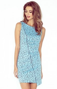 Morimia 004-5 sukienka błękitna