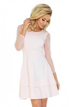 *SAF 141-3 sukienka brzoskwinia