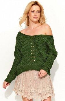 Makadamia S53 sweter khaki