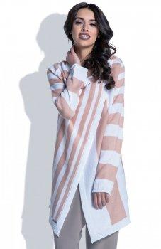 Fobya F401 sweter morelowy