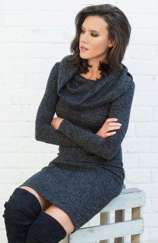 Lapasi L032 sukienka czarna
