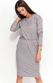 Numinou NU57 sukienka szara