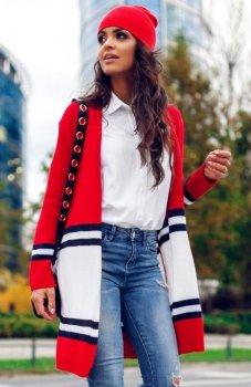 Envy Me EM604 sweter czerwony