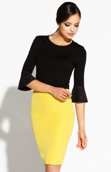 Dursi Bellis spódnica żółta