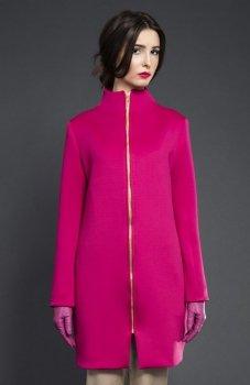 Kasia Miciak design płaszczyk fuksja