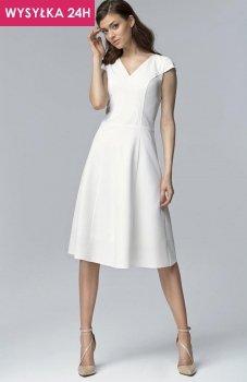 *Nife S60 sukienka ecru