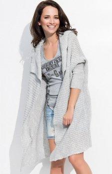 Numinou S10 sweter jasnoszary