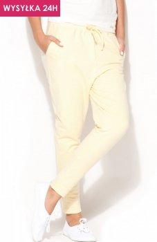 *Katrus K187 spodnie żółte