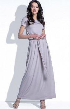 Fobya F396 sukienka mocca