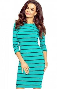 Bergamo 27-11 sukienka zielona