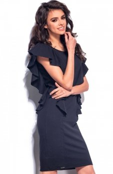 *Lemoniade L178 sukienka czarna