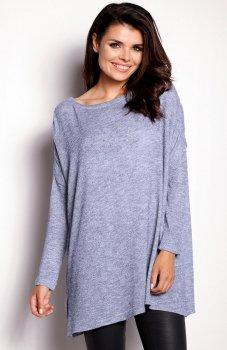 Awama A154 sweter niebieski