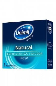 Unimil box 3 natural prezerwatywy