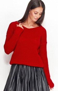 Numinou NU_S27 sweter czerwony