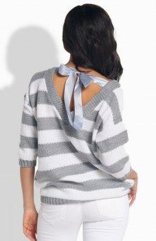 Lemoniade LS183 sweter szary