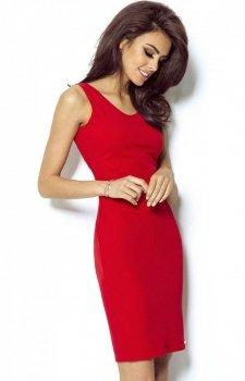 Ivon 206 sukienka czerwona