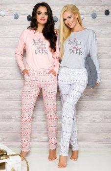 Taro Sofia 2115 AW/17 K2 piżama szara