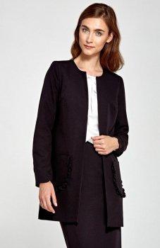 Nife Z23R płaszcz czarny