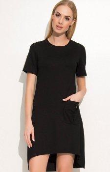 Makadamia M360 sukienka czarna