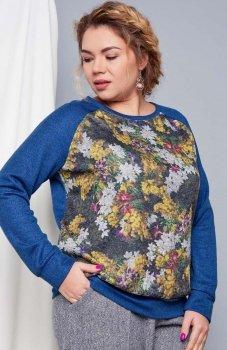 Cover TR1746 sweter jaskrawoniebieski