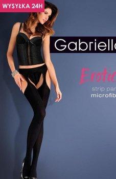 *Gabriella Erotica Strip Panty Micro Code 638 rajstopy