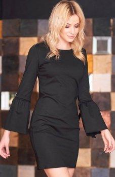 Makadamia M365 sukienka czarna