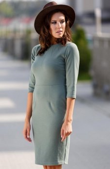 Lapasi  L035 sukienka khaki