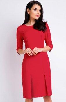 Awama A158 sukienka czerwona