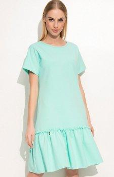 Makadamia M347 sukienka miętowa
