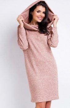 Awama A161 sukienka różowa