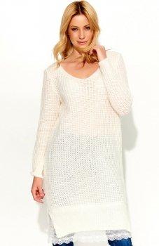 Makadamia S55 sweter ecru