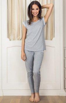 Esotiq Dessa 33547-09X piżama szara