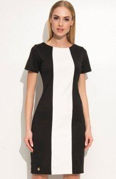 Makadamia M356 sukienka czarna