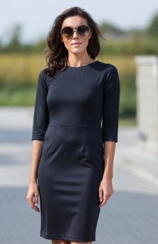 Lapasi  L035 sukienka czarna